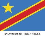 flag of democratic republic of... | Shutterstock .eps vector #501475666