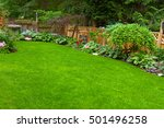 Home Garden. A Beautifully...