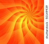 Abstract Vivid Orange...