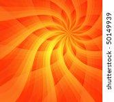 Abstract Vivid Orange...