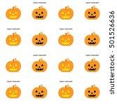 jack o lanterns | Shutterstock . vector #501526636