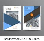 business template for brochure  ... | Shutterstock .eps vector #501532075
