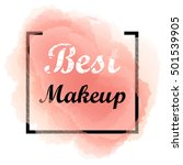 best makeup isolated on... | Shutterstock .eps vector #501539905