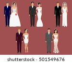 wedding apparel  garment....   Shutterstock .eps vector #501549676