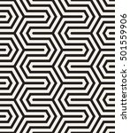 vector seamless pattern. modern ... | Shutterstock .eps vector #501559906