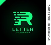 abstract letter r logo design... | Shutterstock .eps vector #501561892