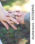 holding hands | Shutterstock . vector #501568942
