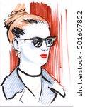 fashion illustration female