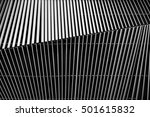 metal louver architectural... | Shutterstock . vector #501615832