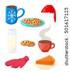 Set Of Traditional Christmas...