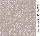 falling snow vector seamless... | Shutterstock .eps vector #501646726