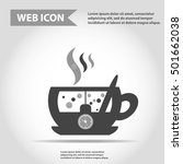 illustration of cup with hot...