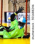 Small photo of Floorball Goalie