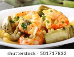 Pasta With Shrimp And...