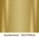 metal steel plate background | Shutterstock . vector #501799816