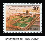 hungary   circa 1980  a stamp... | Shutterstock . vector #50180824