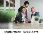 teamwork and strategy in the...   Shutterstock . vector #501816595