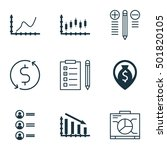 Set Of 9 Universal Editable Icons For Hr, Statistics And Human Resources Topics. Includes Icons Such As Decision Making, Board, Achievement Graph And More.