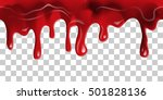 dripping seamless blood. flow...