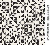 vector seamless pattern. modern ... | Shutterstock .eps vector #501832105