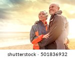 travel mature with man watching ... | Shutterstock . vector #501836932