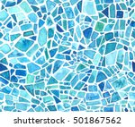 seamless mosaic texture. vector ...