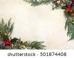 winter and christmas background ...