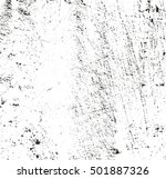 distressed overlay texture of... | Shutterstock .eps vector #501887326
