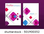 geometric abstract background ... | Shutterstock .eps vector #501900352
