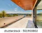 gorgeous balcony with ... | Shutterstock . vector #501903802