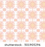 vector printing on fabric ... | Shutterstock .eps vector #501905296