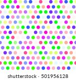 abstract led screen seamless... | Shutterstock .eps vector #501956128