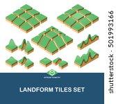 extrude isometric landscape... | Shutterstock .eps vector #501993166
