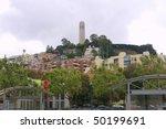 telegraph hill   coit tower san ... | Shutterstock . vector #50199691
