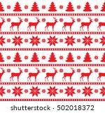 christmas seamless pattern ... | Shutterstock .eps vector #502018372