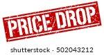 price drop. grunge vintage... | Shutterstock .eps vector #502043212