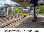 Local British Railway Station