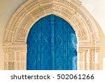 Old Door Of Panagia Eleousa...