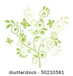 beautiful green tree   Shutterstock .eps vector #50210581
