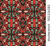 seamless abstract pattern for... | Shutterstock .eps vector #502126282