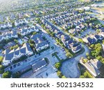 aerial typical multi level... | Shutterstock . vector #502134532