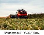 Combine Harvesting Hemp