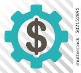 grey and cyan development cost... | Shutterstock .eps vector #502152892