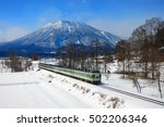 Local Train And Mt.myoko...