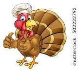 cartoon thanksgiving or... | Shutterstock .eps vector #502222792