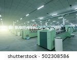 spinning workshop | Shutterstock . vector #502308586