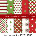 ten christmas different... | Shutterstock .eps vector #502311745