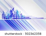building and city illustration...   Shutterstock .eps vector #502362358