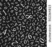 vector seamless pattern.... | Shutterstock .eps vector #502364815