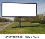 empty billboard for your ad | Shutterstock . vector #50237671